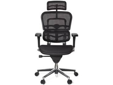Bürostuhl / Chefsessel ERGOHUMAN BASE ONE Netzstoff schwarz hjh OFFICE