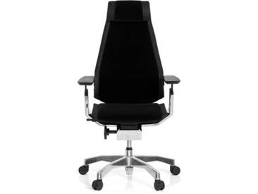 Bürostuhl / Drehstuhl GENIDIA PRO Stoff schwarz hjh OFFICE