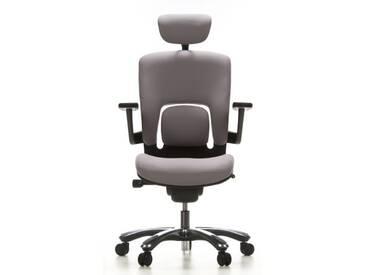 Bürostuhl / Drehstuhl VAPOR LUX Stoff grau hjh OFFICE