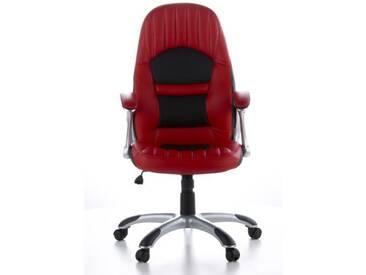 Gaming Stuhl / Bürostuhl RACER 200 Kunstleder rot / schwarz hjh OFFICE