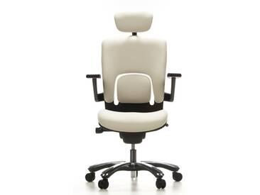 Bürostuhl / Drehstuhl VAPOR LUX Stoff beige hjh OFFICE