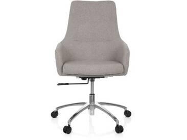 Bürostuhl / Drehstuhl SHAKE 100 Stoff hellgrau hjh OFFICE