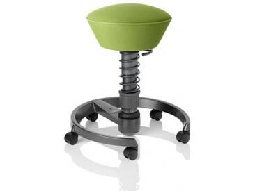 Bürostuhl / Rollhocker SWOPPER AIR Lime-Green mit Rollen