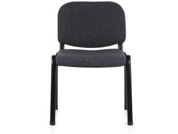 Konferenzstuhl / Besucherstuhl / Stuhl XT 600 schwarz/anthrazit hjh OFFICE