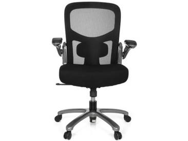 Schwerlaststuhl / Bürostuhl INSTRUCTOR T Titan XXL Netzstoff / Stoff schwarz hjh OFFICE