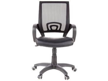 Bürostuhl/Drehstuhl VISTO NET Netzstoff schwarz hjh OFFICE
