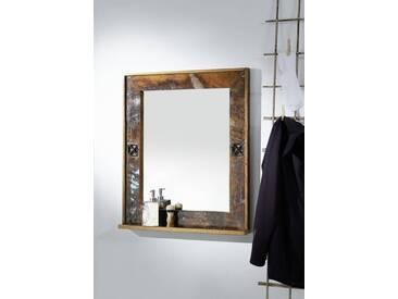 Spiegel Altholz 68x8x79 mehrfarbig lackiert NATURE OF SPIRITBAD #104