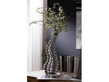 Vase Aluminium 16x19x56 silber SPECIALDEKO #119