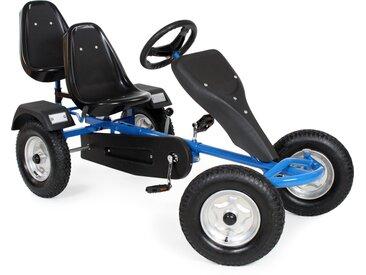 Go-Kart 2-Sitzer blau von tectake