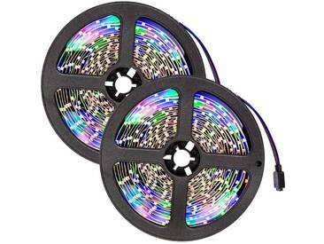 2 LED-Strips mit 300 LEDs, 5m Länge von tectake