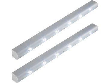 2 LED-Lichtleisten mit Bewegungsmelder von tectake