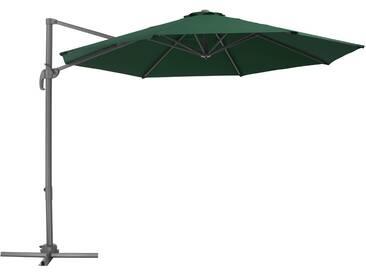 Sonnenschirm Ampelschirm 300cm grün von tectake
