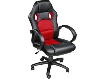 Racing Gamingstuhl schwarz/rot von tectake