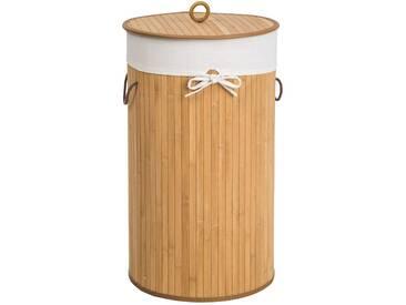 Wäschekorb mit Wäschesack rund von tectake