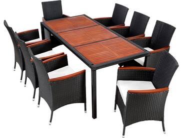 Rattan Sitzgruppe 8+1 Modell 1   Rattanmöbel Von TecTake
