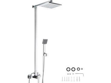 Duschsystem Regendusche mit Handbrause von tectake