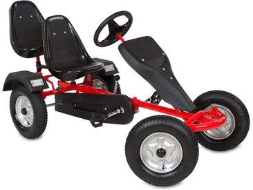 Go-Kart 2-Sitzer rot von tectake