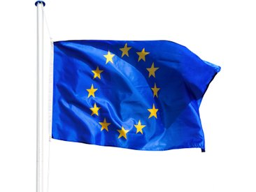 Aluminium Fahnenmast Europa von tectake