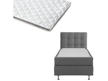Boxspringbett-Set SCHLARAFFIA® Nordic/ErgoMAXX® Gel Touch® Visko-Gelschaum-Topper (90x200)