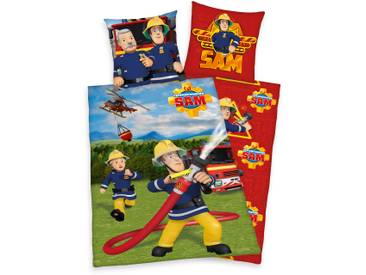 Kinderbettwäsche Feuerwehrmann Sam (135x200)
