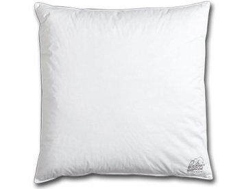 RIBECO® Federkopfkissen (80x80, weiß, 900 g)