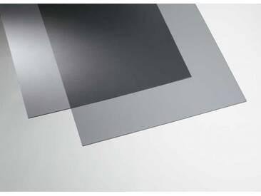 Acryl transparent grau 500 x 500 mm