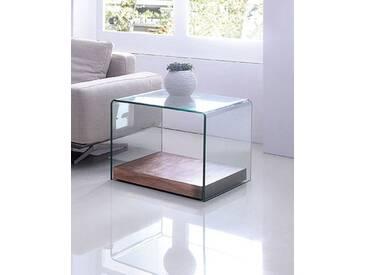 Design Beistelltisch Wood Cube