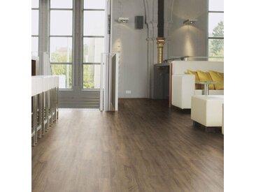Wineo Vinylboden - 600 wood Venero Oak Brown - Made in Germany - Strapazierfähige Landhausdiele zum Klicken