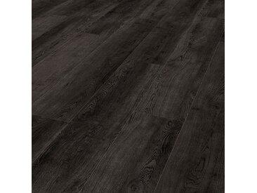 Gerflor Klebevinyl - Virtuo 55 Glue Down Sunny Black - robuste Landhausdiele mit Strukturprägung und Microfase
