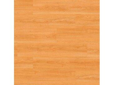 Wicanders Klick-Vinyl - Wood Go Kirsche Amber Landhausdiele - strapazierfähiger Vinylboden mit integrierter Korkdämmung