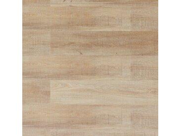 Wicanders Klick-Vinyl - Wood Hydrocork Sawn Bisque Oak, synchrongeprägt - wasserfeste Vinyldiele mit Synchronprägung und integr. Trittschall