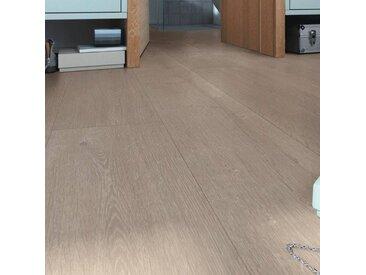 Meister Designboden - MeisterDesign flex Dd400 Eiche greige 6959 - Bio-Designbelag zum Klicken als Landhausdiele mit schöner Holzstruktur
