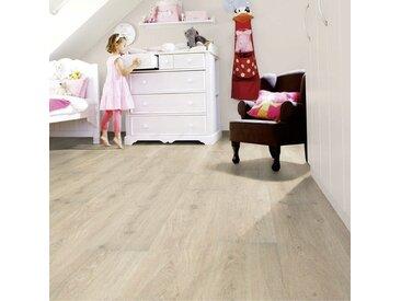 Wineo Vinylboden - 600 wood XL Victoria Oak White - Strapazierfähige Landhausdiele zum Kleben