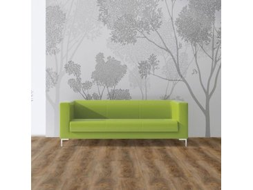 Wineo Vinylboden - 600 wood XL Aumera Oak Dark - Strapazierfähige Landhausdiele zum Klicken