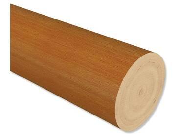 Gardinenstangen Holzstab Kirschbaum lackiert (Holzstange) in 28 mm 100 cm