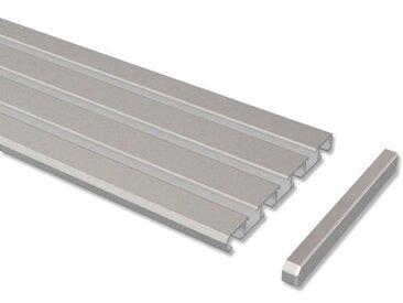 Gardinenschienen / Vorhangschienen 3-/4-läufig Aluminium Slimline 100 cm