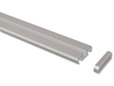Gardinenschiene / Vorhangschiene 1-/2-läufig Aluminium Slimline 100 cm