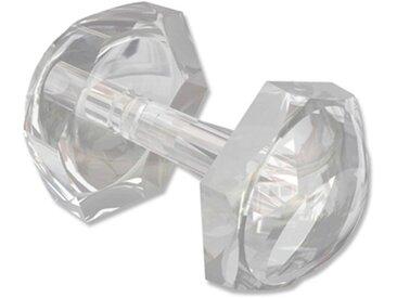 Faltenstecker für Gardinen-Stores, Kunststoff Transparent