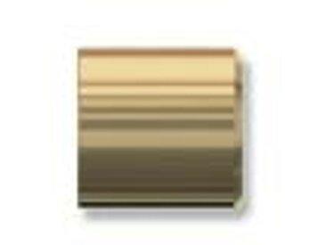 Gardinenstangen Endstück Cosio (Kappe) Messing matt für 16 mm (Set 2 Stück)