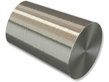 Endstücke Carelli (Konus) Edelstahl-Optik für 16 mm Gardinenstangen (Set 2 Stück)