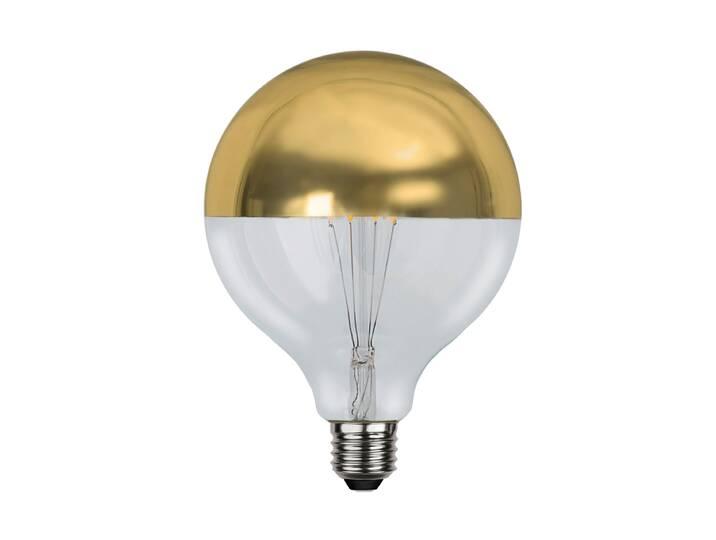 LED-Leuchtmittel, Star goldfarben Gold