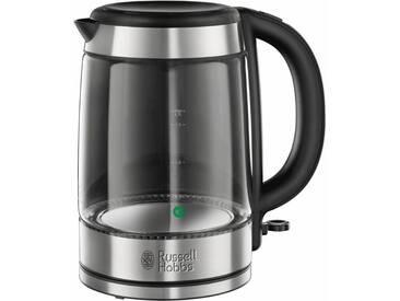 RUSSELL HOBBS Glass Wasserkocher 21600-57 silber