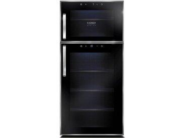 Getränkekühlschrank 635, 80,5 cm hoch, 34,5 cm breit, Energieeffizienz: B, schwarz, Energieeffizienzklasse: B, Caso