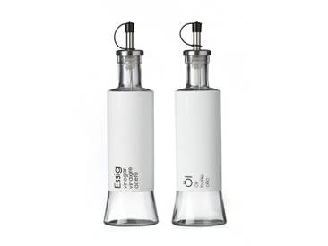 Essig- und Ölflasche, weiß, Essig- u. Ölflasche, 320 ml, H. 24, Ø 6,5cm, »Cantina«, Ritzenhoff & Breker