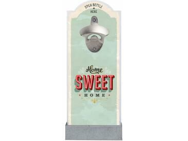 Wand-Flaschenöffner , bunt, »Home Sweet Home«, Contento