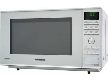 Mikrowelle NN-CF760MEPG, silber, Panasonic