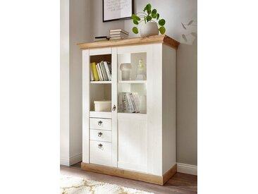 Home affaire Highboard , weiß, Landhaus-Stil, »Cremona«, , , mit Schubkästen, FSC®-zertifiziert