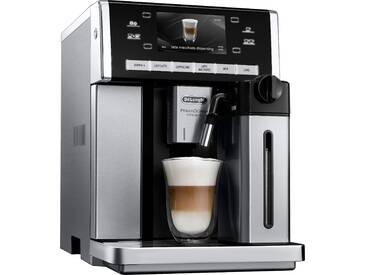 Kaffeevollautomat PRIMADONNA EXCLUSIVE ESAM 6850.M, silber, DeLonghi
