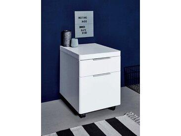 Rollcontainer , weiß, FSC-Zertifikat, »CU-Libre C 40«, , , mit Schubkästen, FSC®-zertifiziert, JAHNKE