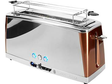 RUSSELL HOBBS Toaster Luna Copper Accents 24310-56, braun